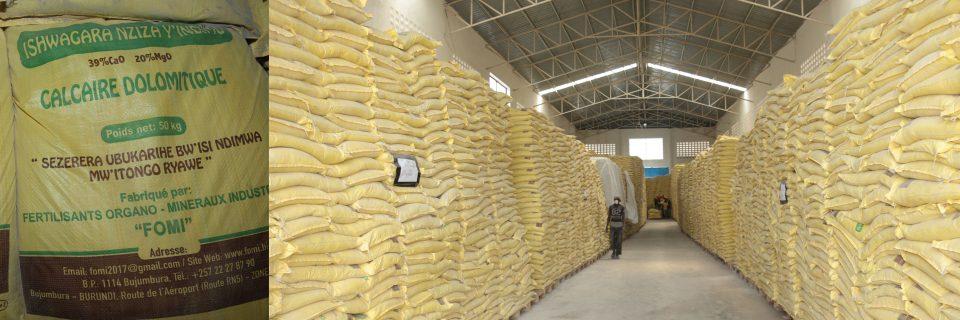 Chaux agricole disponible en quantité et temps voulus pour corriger l'acidité de nos sols