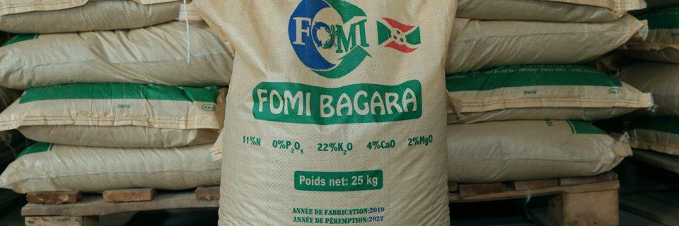 FOMI-BAGARA, engrais organo-minéral potassique conçu pour les plantes à tubercules