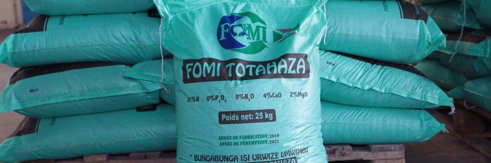 FOMI-TOTAHAZA, engrais organo-minéral azoté conçu pour les céréales et les légumes